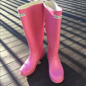 Ladies Size 7 Hunter Boots VGUC